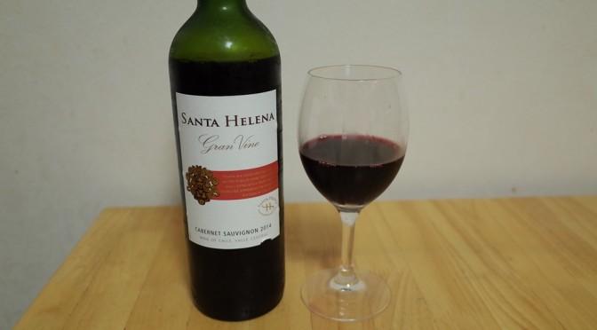 【安旨ワイン】サンタ・ヘレナ・グラン・ヴィーノ これはグイグイいける