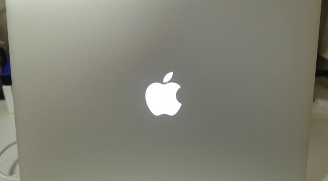【mac】Mac Book Air 開封レビュー 今更ですが