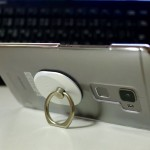 Spigen Style Ring 大きなスマートフォンには必須の使い易いリング
