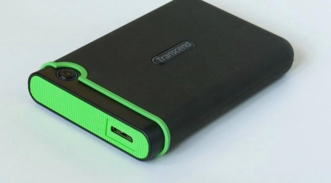 【ポータブルHDD】開封レビュー Transcend M3シリーズ USB 3.0対応でアクセス速度が激早!