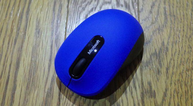 マイクロソフト Bluetooth Mouse 3600 手に馴染む形がいいマウス