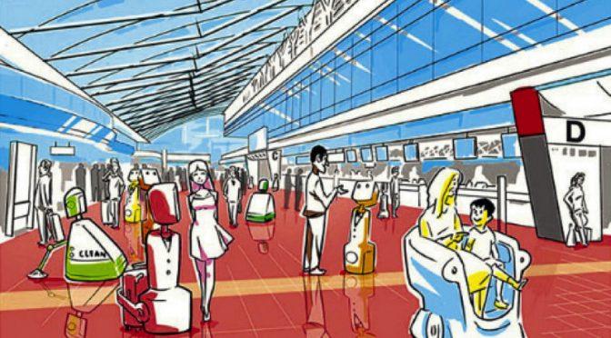 【ロボット】羽田空港でロボリンピックを開催