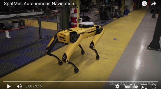 【ロボット】ロボット犬 SpotMini 自律歩行の裏側